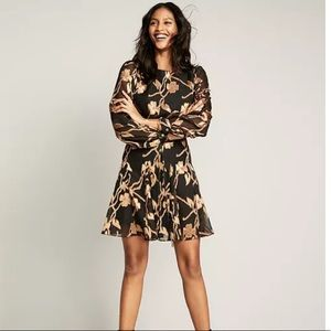 Tommy Hilfiger NWT black and gold floral dress
